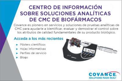 Centro de información de CMC biofarmacéutico en Covance