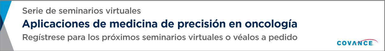 Serie de seminarios virtuales sobre medicina de precisión