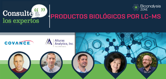 Consulte a los expertos: productos biológicos por LC-MS